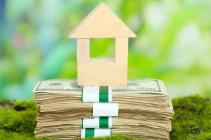 Wooden Block House On Money.jpg